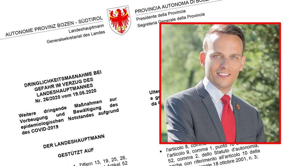 Landeshauptmann Südtirol